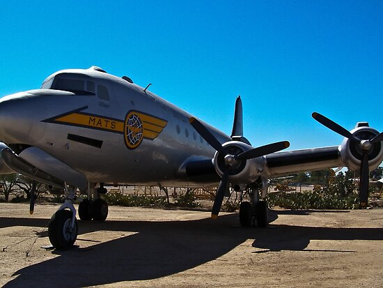 C-54 Skymaster on display at the PIMA Air and Space Museum