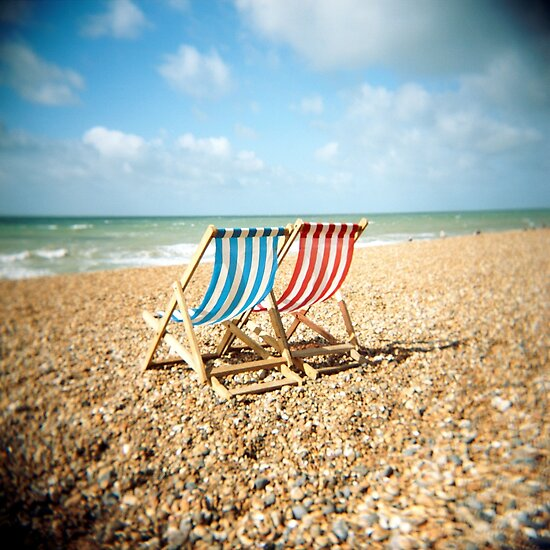 Toy Camera: Deckchairs by Craig Roberts