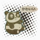 panda kawaii by jrock1184