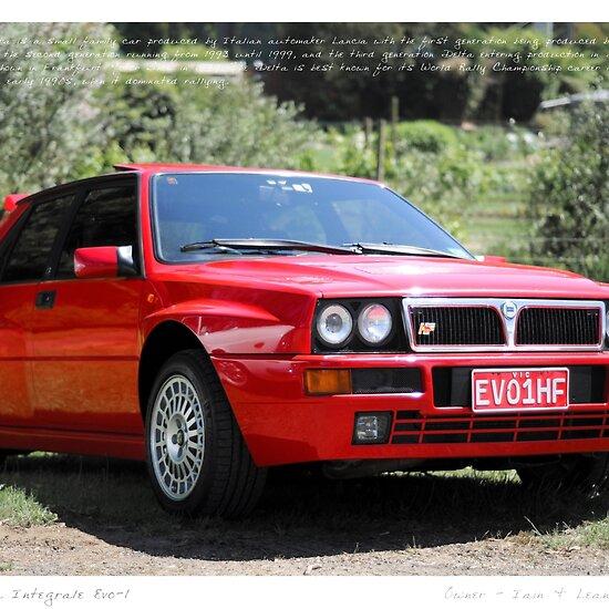 Lancia Delta Rally Car. delta integrale rally car,
