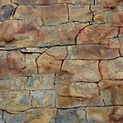 Oil pattern on rock errosion by saifulrizan
