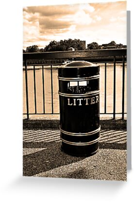 Greeting Card: Keeping the Thames clean! (Print A)
