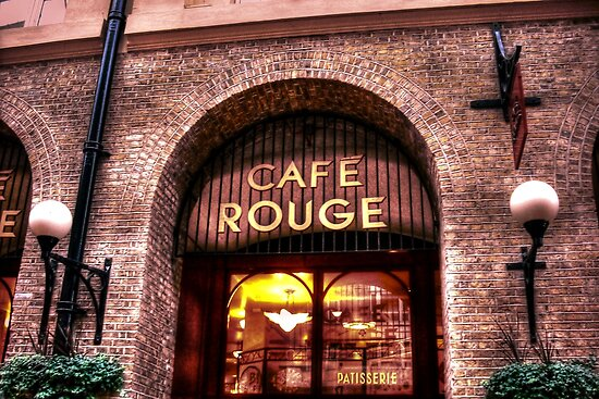 Cafe Rouge by Richard Ray