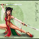 Xiu-Mei Fan - Wushu Princess by Keddy Davis