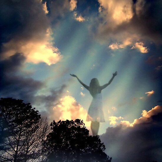 Heavenly skies..... by Rhonda Fulks