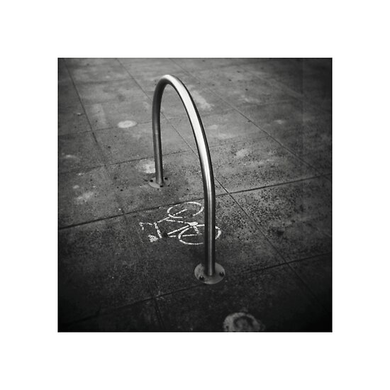 Toy Camera: Bike Stand by abocNathan