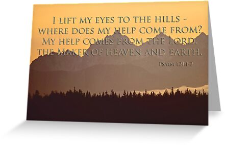 Olympics sunset with psalm 1211 2 greeting cards by dedmanshootn greeting cards tags m4hsunfo