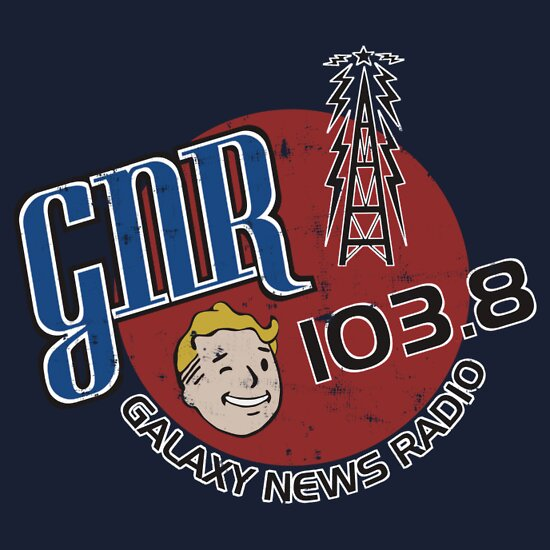TShirtGifter presents: Galaxy News Radio T-Shirt