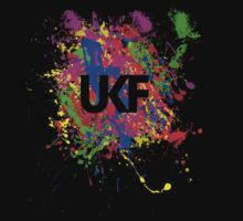 UKF Colour Splash Logo T-Shirt