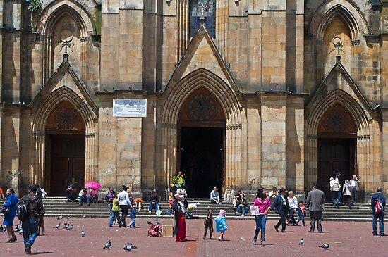 """Nuestra Señora De Lourdes: """"Iglesia De Nuestra Señora De Lourdes, Bogota, Columbia"""