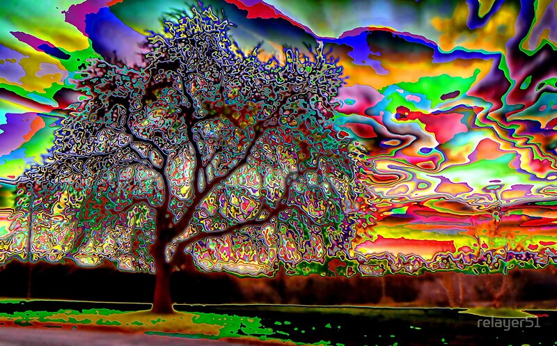 """""""Psychedelic Sunset"""" by relayer51 