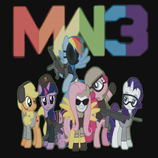 TShirtGifter presents: Modern Warfare 3 Ponies T-Shirt