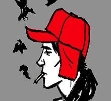 red hunting hat catcher in the rye essay help