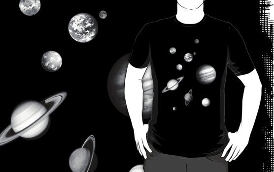 Solar System Unlabeled Black and White (page 4) - Pics ...