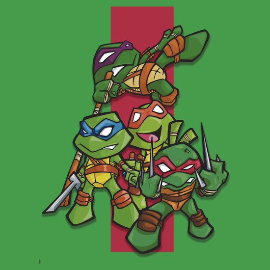 Cute Ninja Turtles to Draw images