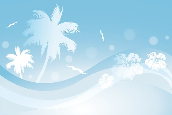 background of blue tropical - photo #6