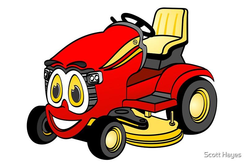 free cartoon lawn mower clipart - photo #30