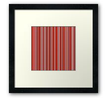 Many colorful stripe pattern in red on Framed Prints by pASob-dESIGN | Redbubble