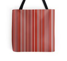 Many colorful stripe pattern in red on Tote Bag by pASob-dESIGN | Redbubble