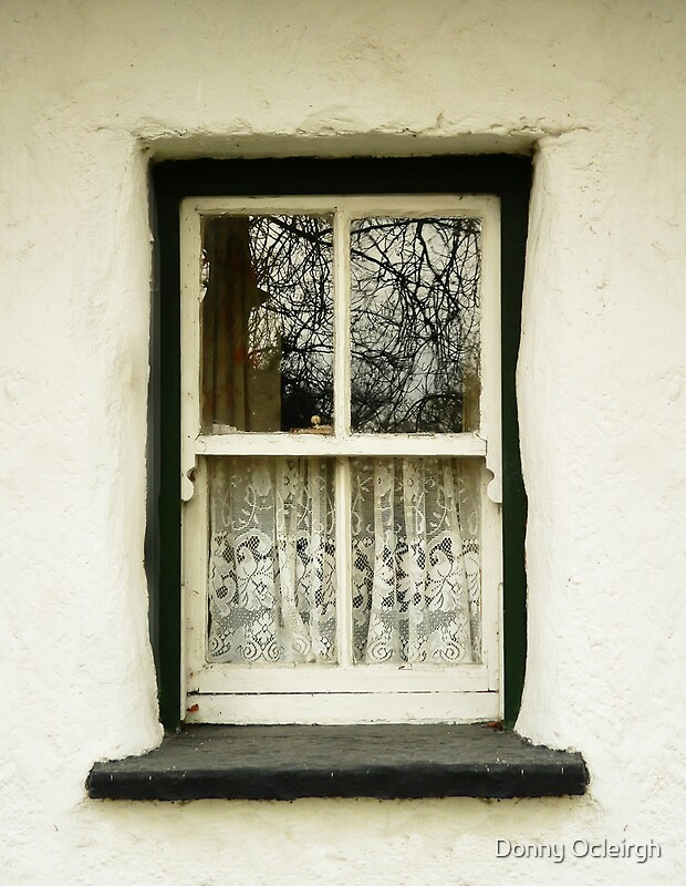 Quot Irish Country Cottage Window Quot By Donny Ocleirgh Redbubble