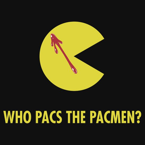 TShirtGifter presents: Who Pacs The Pacmen?! T-Shirt