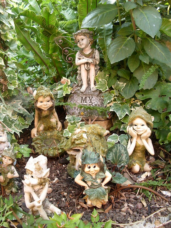 """There Are Fairies At The Bottom Of My Garden"" By"