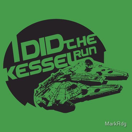 TShirtGifter presents: I did the Kessel Run T-Shirt