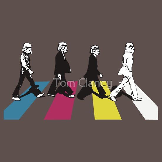 TShirtGifter presents: Storming Abbey Road (Disco) T-Shirt