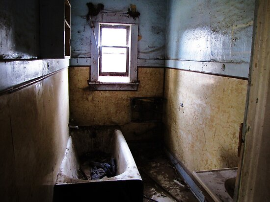 """""""Lost Cause....Old abandoned house bathroom"""" by trueblvr ..."""