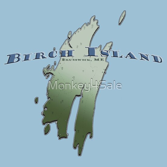 TShirtGifter presents: Birch Island T-Shirt