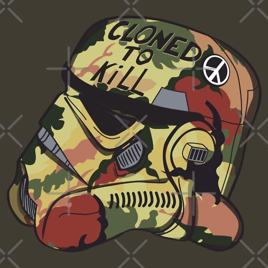 TShirtGifter presents: Cloned To Kill T-Shirt