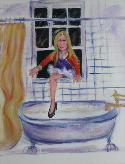 """She Came In Through The Bathroom...window...2"" By M"