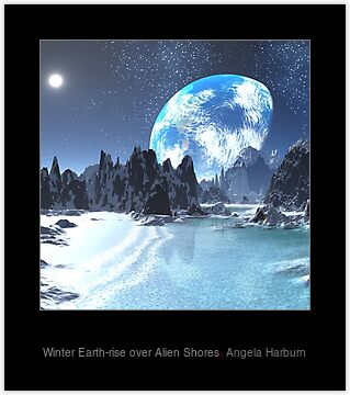 sci fi landscape alien planets - photo #33